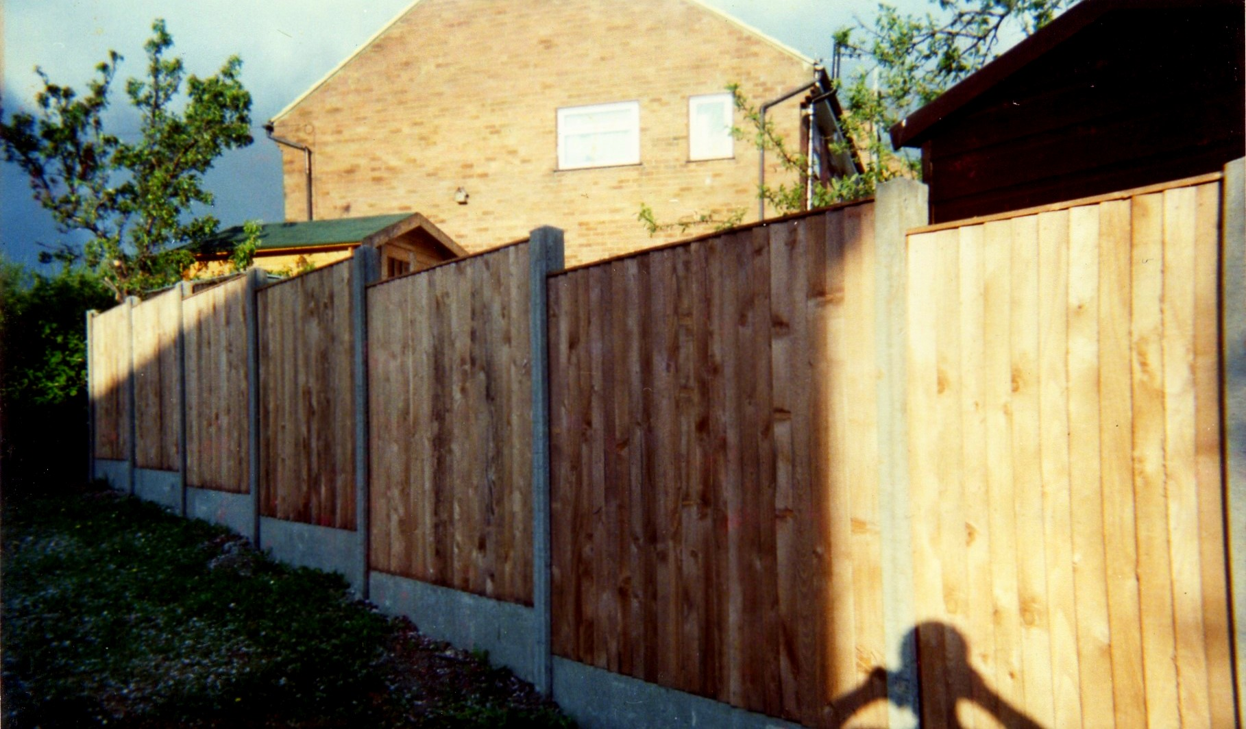 Concrete Gravel Boards and Slotted Posts