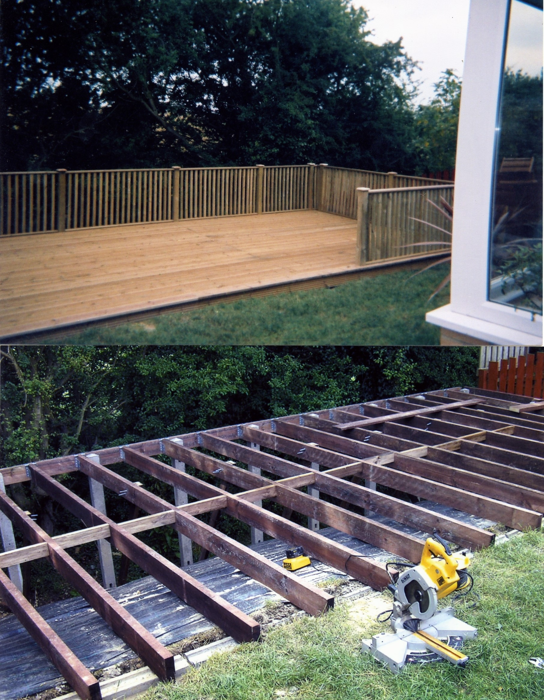 Raised Decking