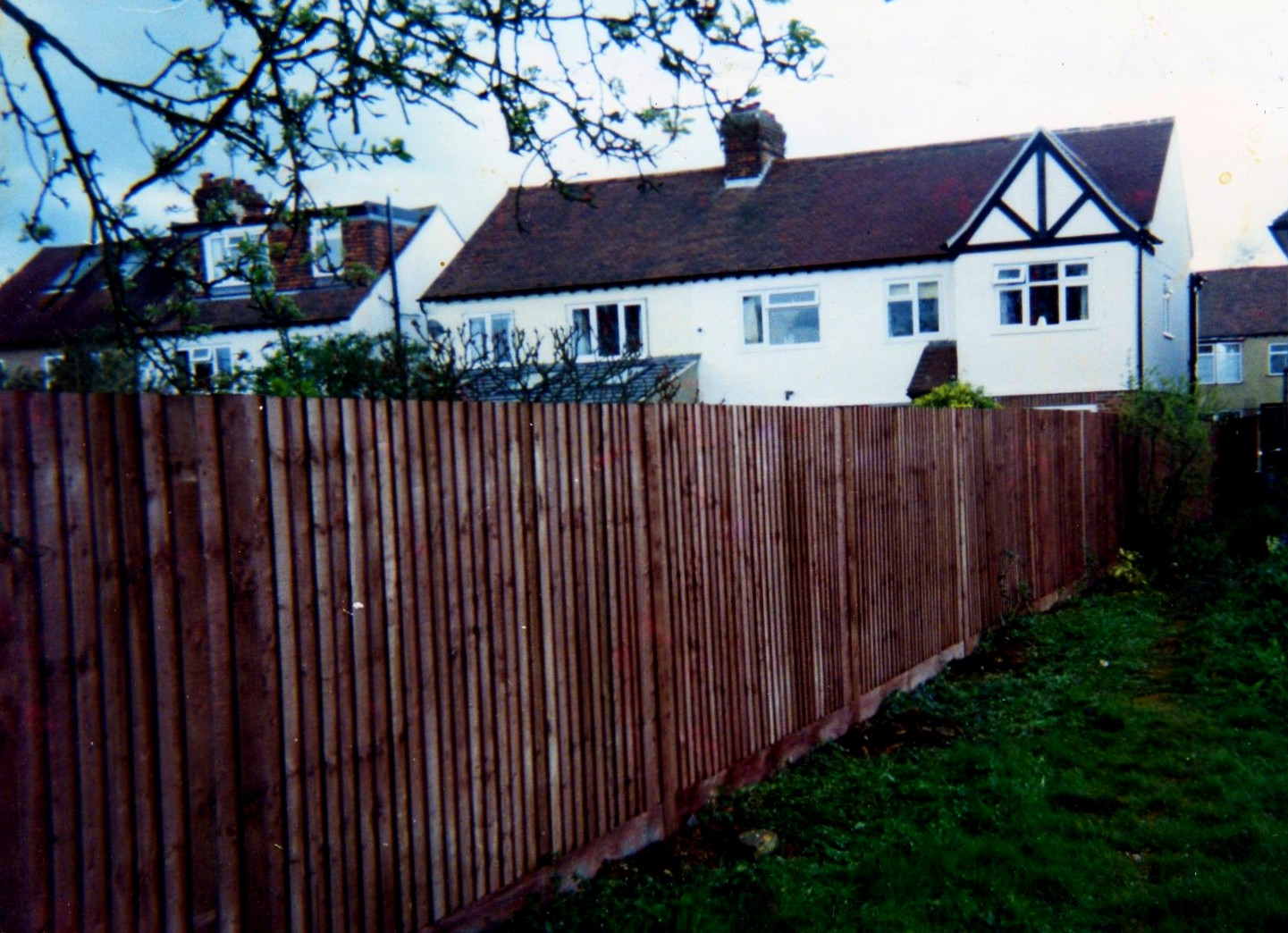 Traditonal Close Boarded Fencing